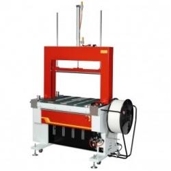 Стреппинг-машина ТР-601BP с приводным ременным конвейером и прессом