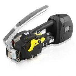 Автоматическое переносное устройство для обвязки ПП и ПЭТ лентами, работающее от аккумулятора ZP22