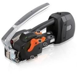 Автоматическое переносное устройство для обвязки ПП и ПЭТ лентами, работающее от аккумулятора ZP24