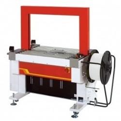 Стреппинг-машина ТР-601А с приводным роликовым конвейером для широких ПП лент