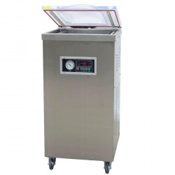 Однокамерный вакуумно-упаковочный напольный аппарат DZ 400-2E