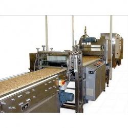 Производственная линия для изготовления кондитерских батончиков и плиток из теста, волокнистых и зер
