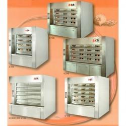 Многоярусная паротрубная печь для выпечки хлебопекарных изделий AXA STABIL