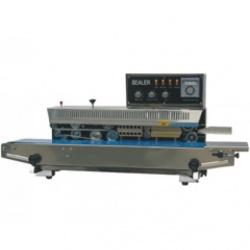 FRM-980A I горизонтальный конвейерный запайщик, с чернильным валиком для печати