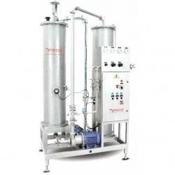 Аппарат для обогащения воды CO2