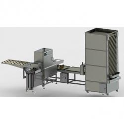 Автоматическая линия по надрезу (нарезу) теста хлебобулочных изделий BTI-1