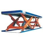 Подъемные столы EDMOLIFT (Швеция) двойные горизонтальные ножницы